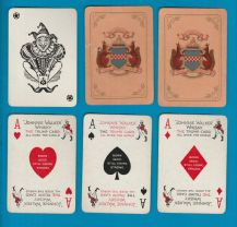 Collectible Vintage advertising playing cards Johnnie Walker Whisky